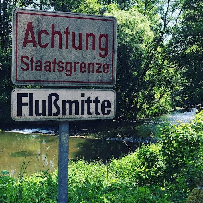 Weinviertel Niederösterreich Wandern mit Hund Weitwanderweg Thayatalweg Niederösterreich Retz