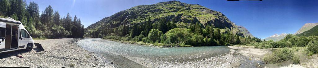 Val Cenis Frankreich Alpen Roadtrip Wohnmobil Camping mit Hund Reisen Wildcamping schöne Orte
