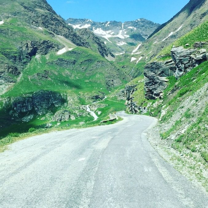 Col De L'iseran Alpenpässe Alpen Bergstraße Kastenwagen Rundreise Frankreich