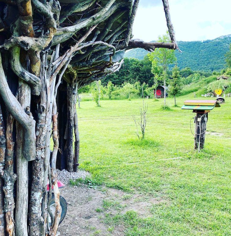 Kamp Velebit Kroatien Camping Campingplatz Glamping mit Hund Berge Wandern
