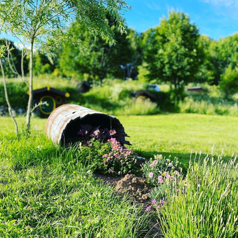 Kamp Velebit Camp Kroatien Camping mit Hund Glamping Berge Wandern Hobbit
