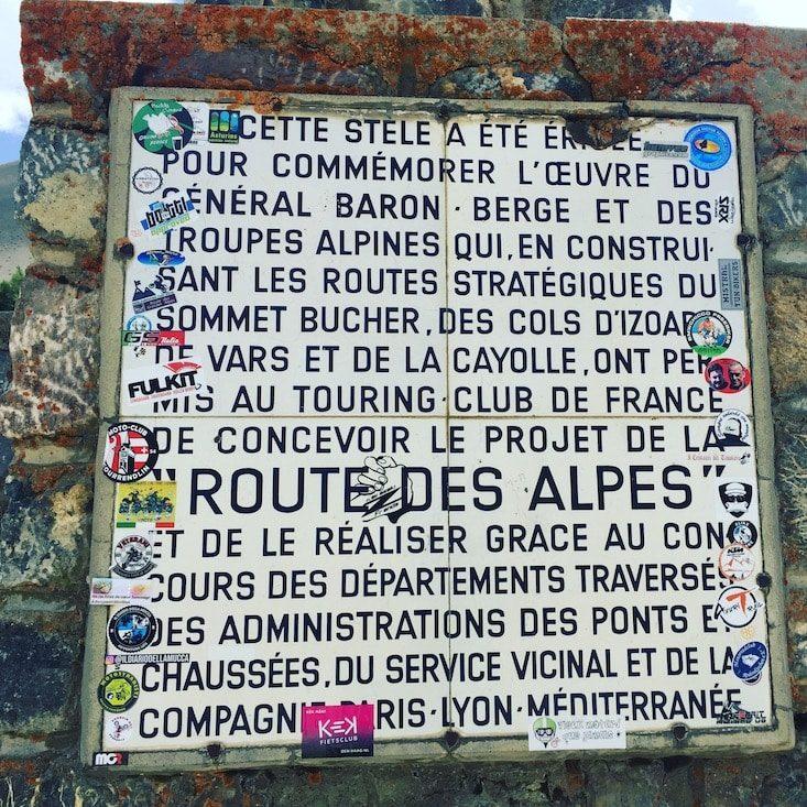 Col de l'Izoard Panoramastraße Frankreich Rundreise Wohnmobil