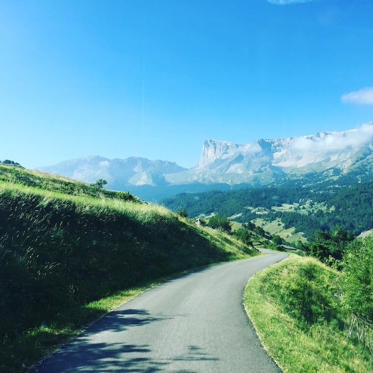 Devoluy Frankreich Berge Rundreise Roadtrip
