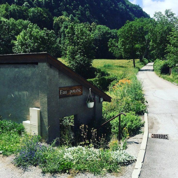 Malsanne Alpen Französisch Esel