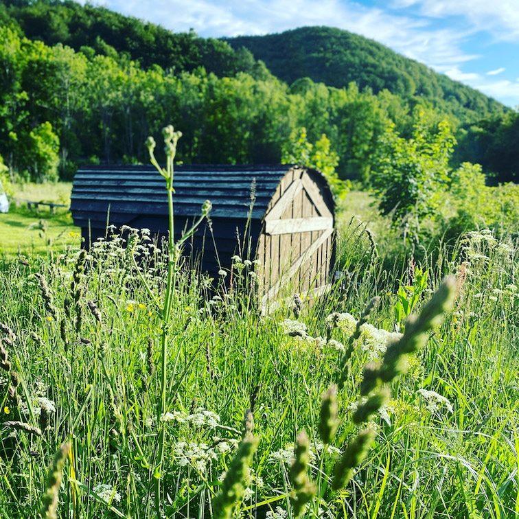Kamp Velebit Camping mit Hund in Kroatien Glamping Hobbit-Camping