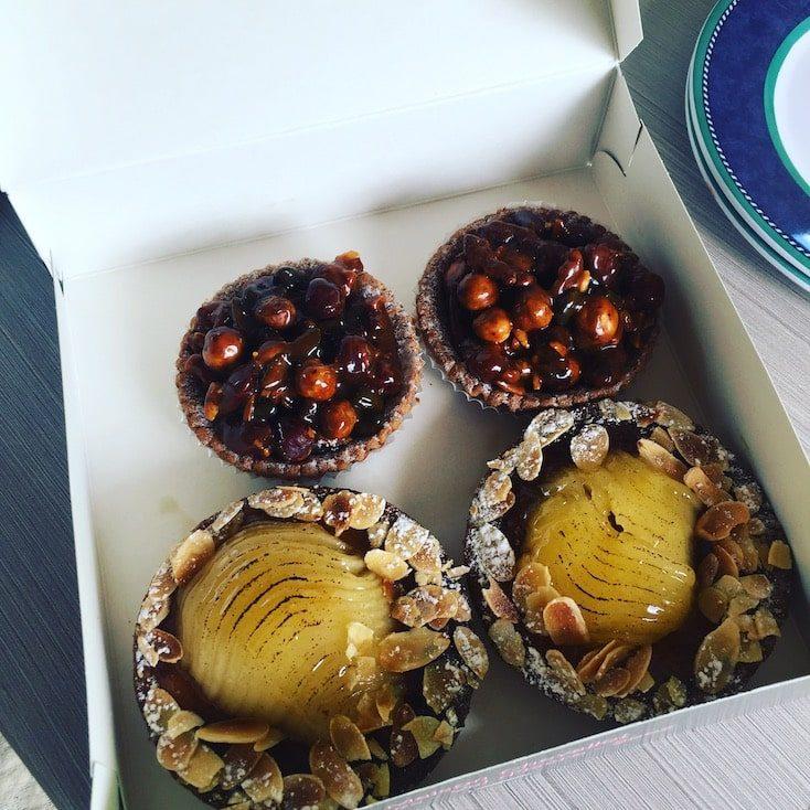 Tarte aux pommes Tartlettes genuss Frankreich Spezialität