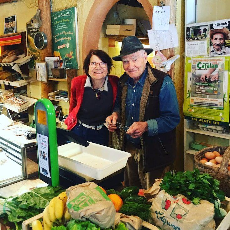Languedoc Roussillon Ferme du bio sillon Südfrankreich Einkaufstipp Wohnmobilreise Nachhaltigkeit Bio-Lebensmittel Pioniere
