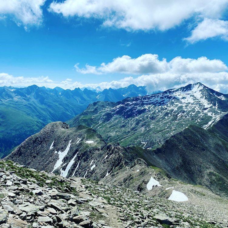 Großes Degenhorn Hohe Tauern Wandern mit Hund Villgratental Herz-Ass