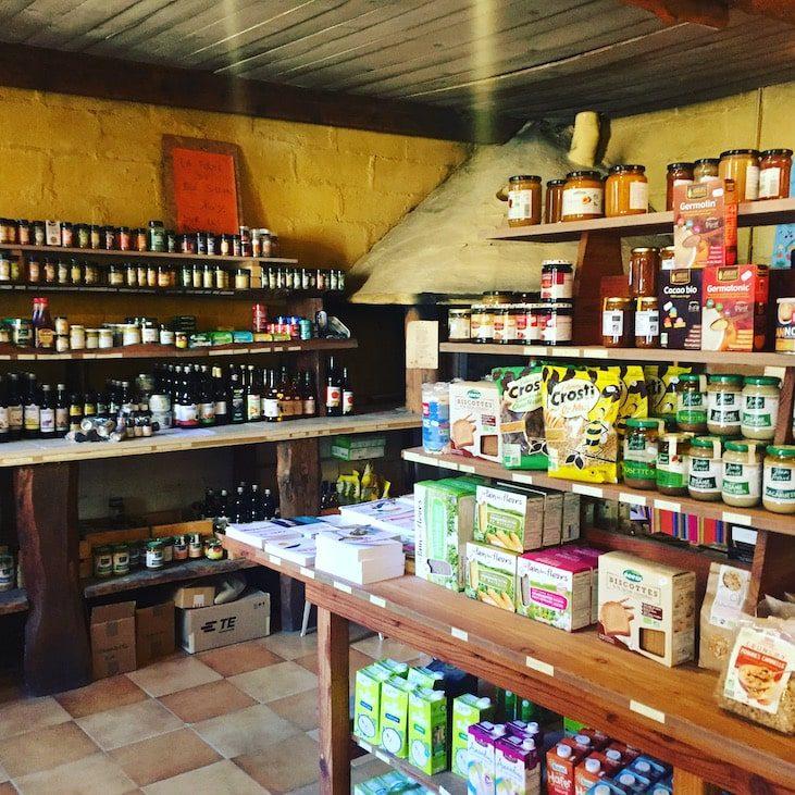 Südfrankreich Bioladen Ferme du bio sillon St Nazaire Bio-landwirtschaft