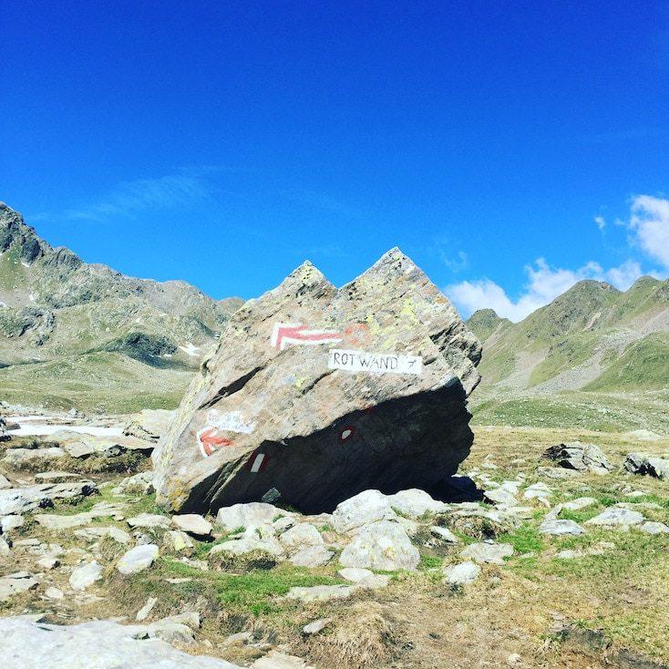Rote Wand Staller Sattel Defreggental Antholzer Tal Wandern