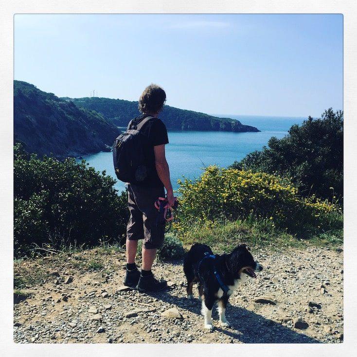 Wandern Toskana Hund Maremma