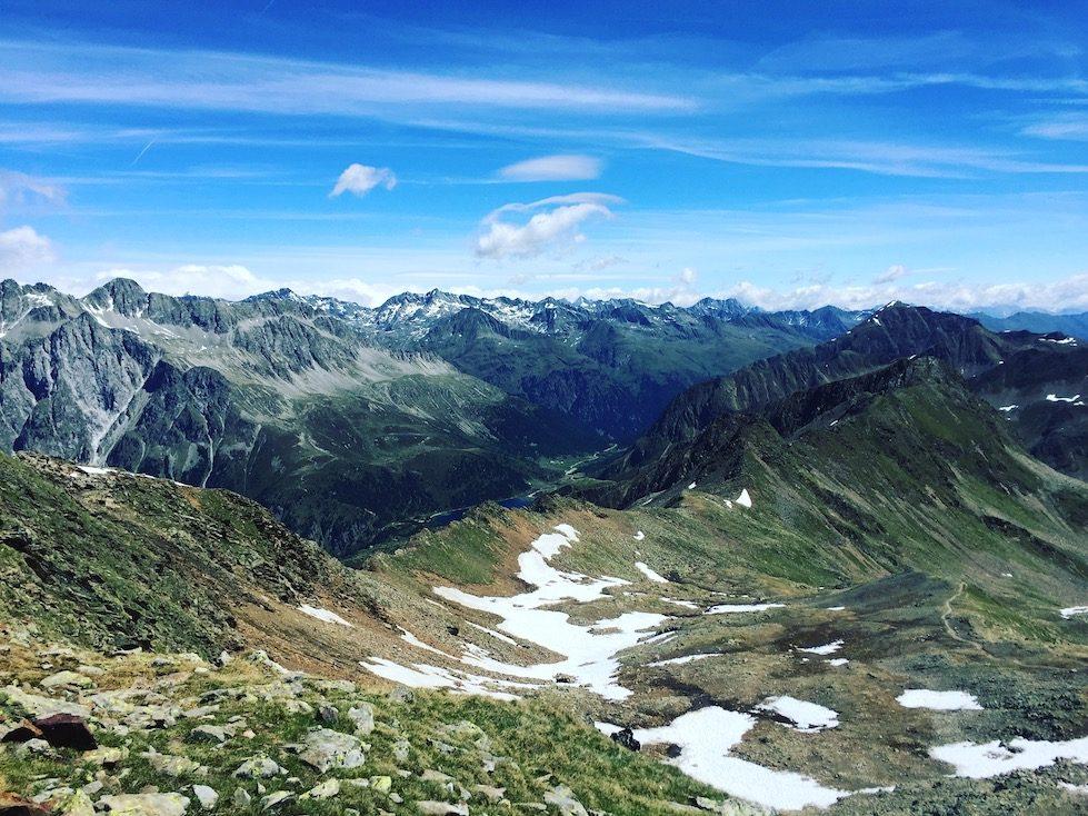 Antholzertal Defrggental Hohe Tauern Wandern Staller Sattel Rote Wand
