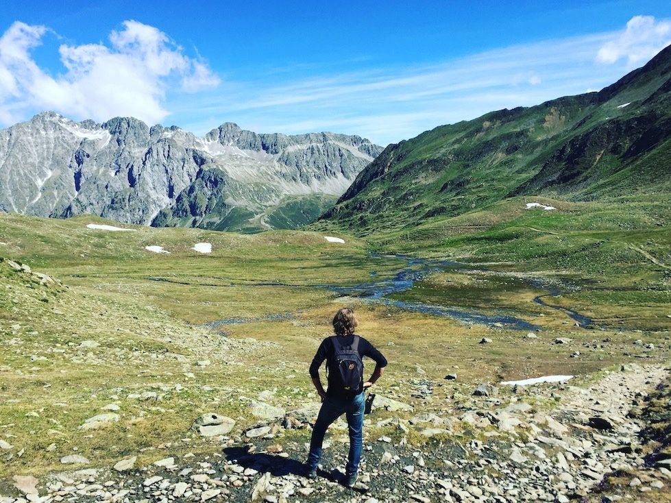 Wandern Defreggental Staller Sattel Rote Wand Hohe Tauern Villgratner Berge
