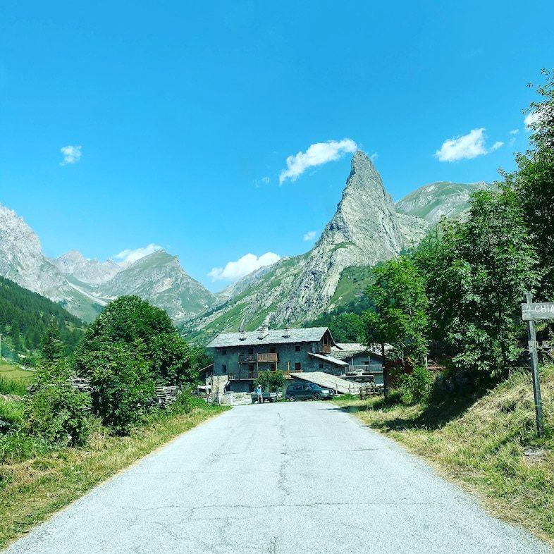 Maira Tal Rocca Provenzale Chiappera Wandern Wanderung