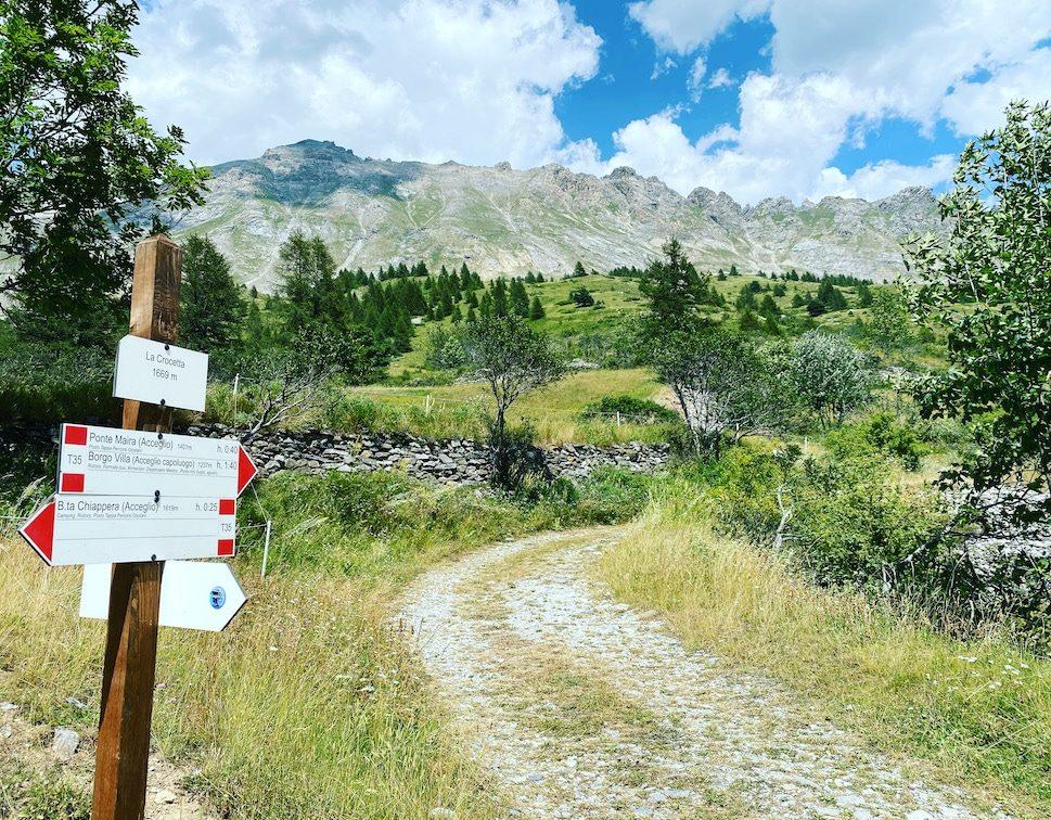 Valle Maira Wandern Wanderwege Piemont Italien Cottische Alpen Mountainbike