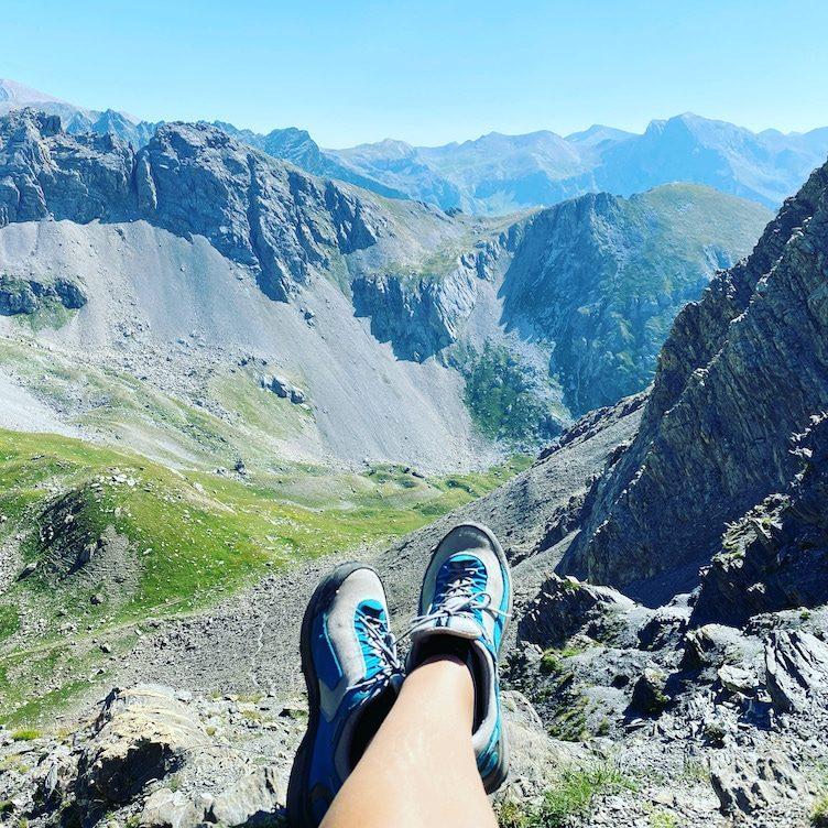 Valle Maira Sentiero Dino Icardi Wandern Wanderung Piemont Hund Cottische Alpen