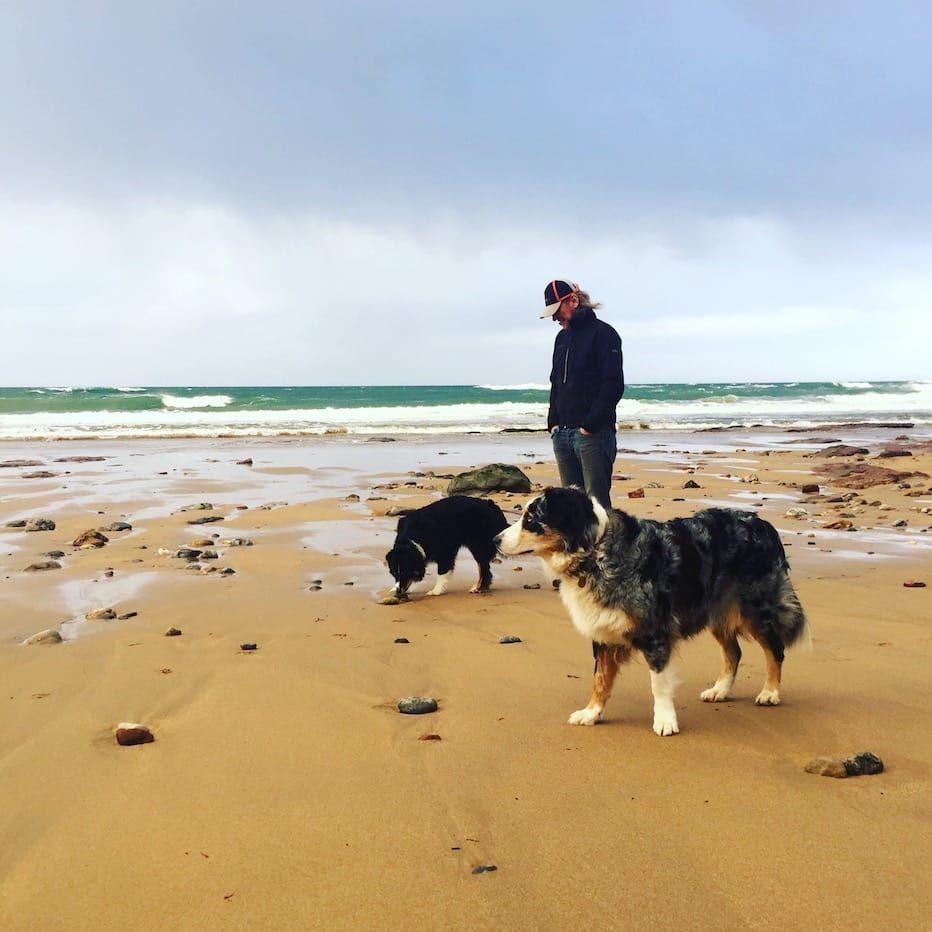 Asturien Spanien Nordspanien Hundestrand reisen mit Hund Camping schönster Ort der Welt