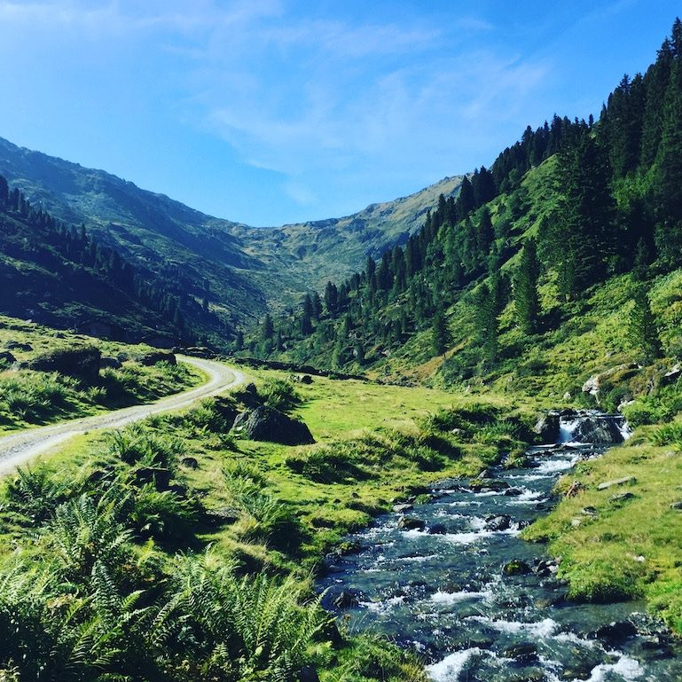 Frommtal Frommalm Wanderung Kelchsau Langer Grund Erla-Brennhütte Tirol Brixental