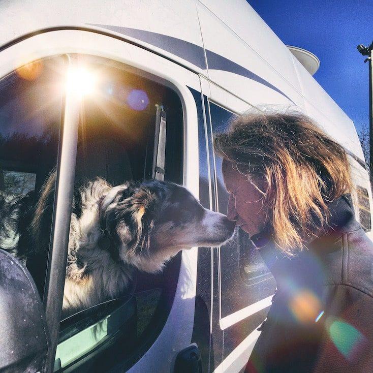 Gardasee Camping Hund Torbole Australian Shepherd Wandern Hund