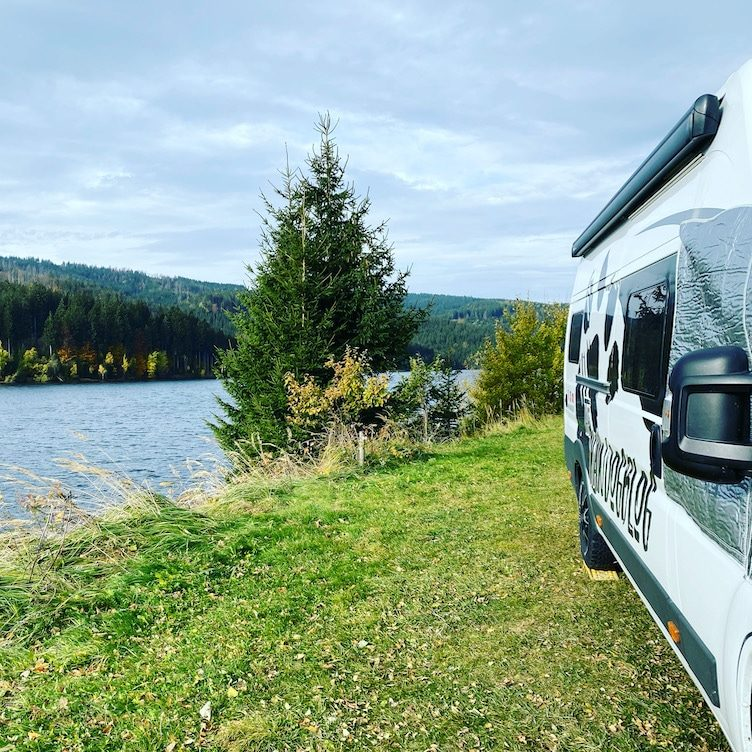 Steiermark Soboth Stausee Eibiswald Lavamünd Österreich Campingbus Wohnmobil Kastenwagen Stellplatz