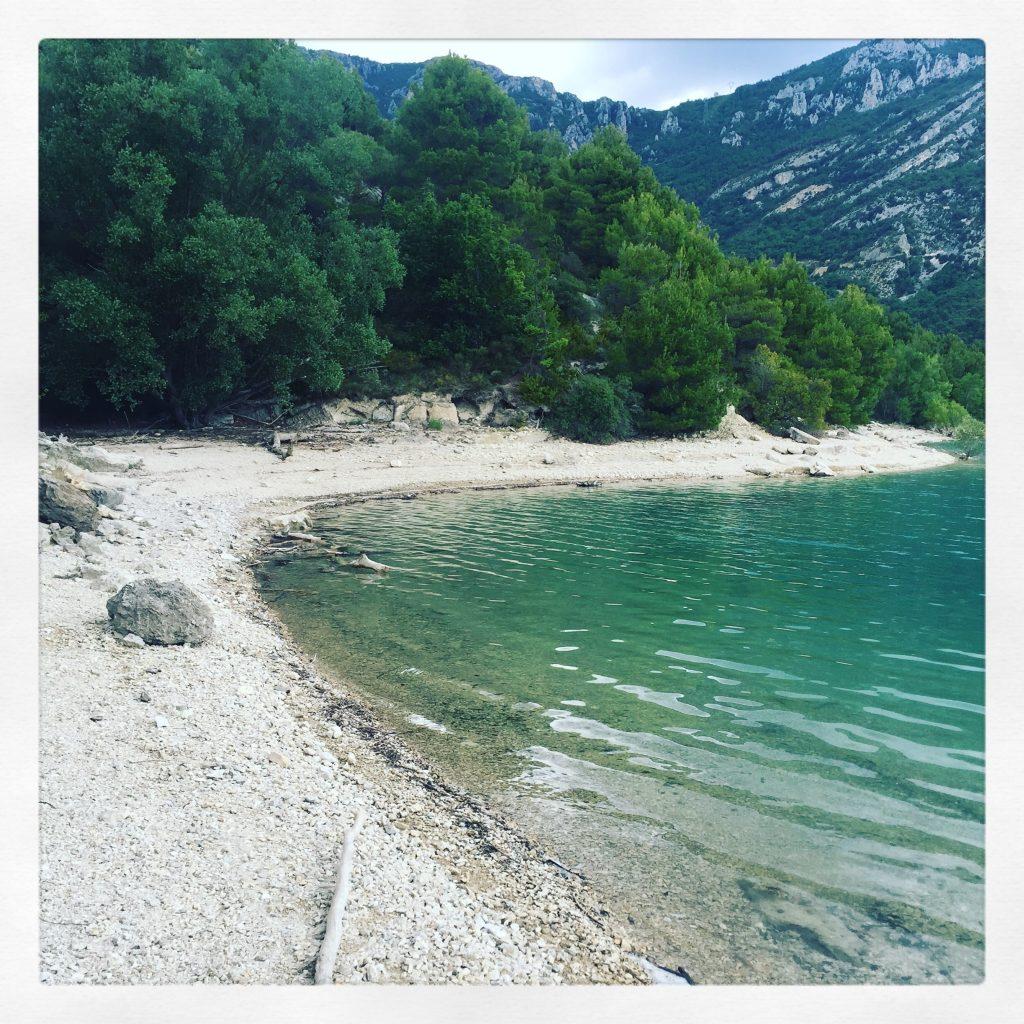 Lac de sainte croix Südfrankreich Roadtrip Provence