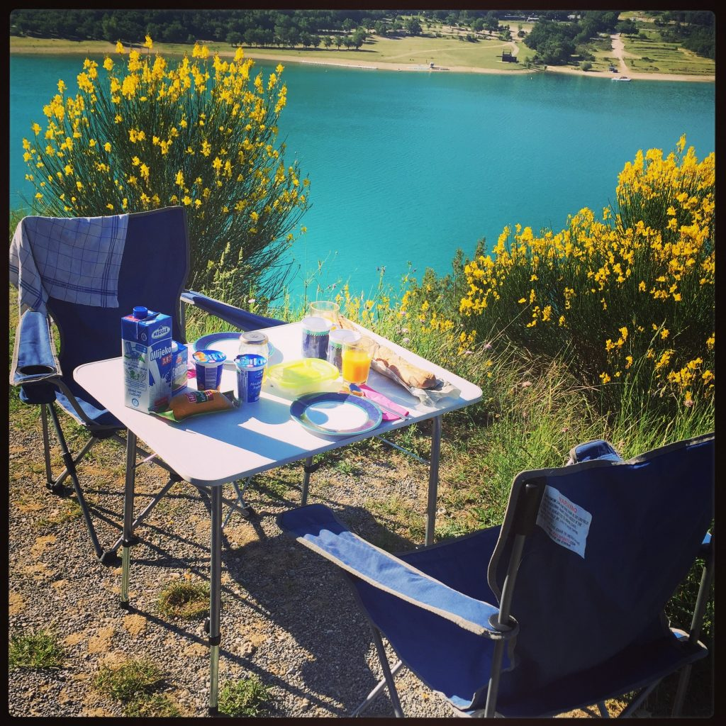Lac de sainte croix Südfrankreich Wildcamping Frankreich roadtrip Wohnmobil camping