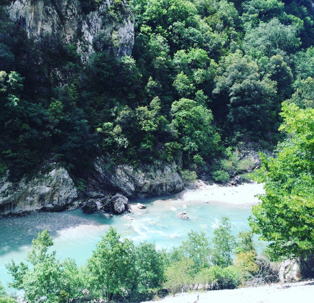 Gorges du Verdon Blanc Martel Wandern Schlucht Frankreich