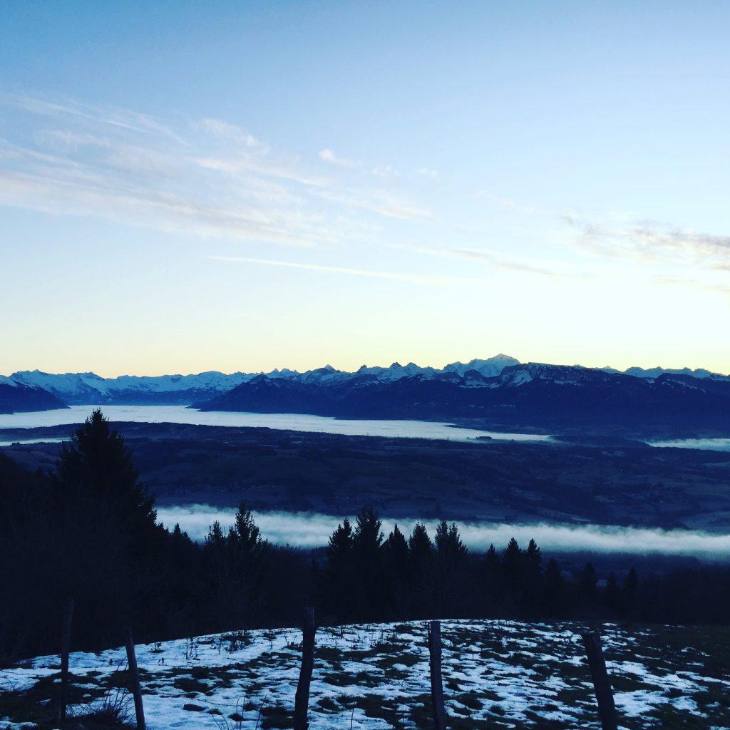Corona_Optimismus Alpen Frankreich Annecy Roadtrip Wintercamping