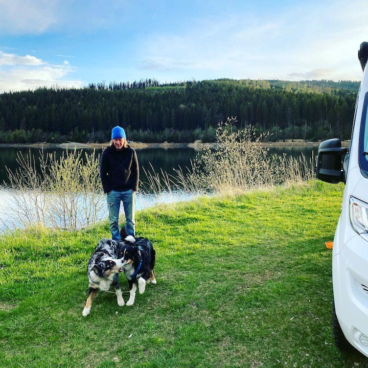 Reisebeschränkung Corona Reisefreiheit Österreich Soboth Stausee Reisen mit Hund Camping Wohnmobil