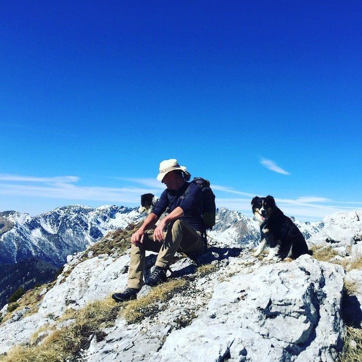 Passo Brecon Lagorai Trentino Wandern  Hund Wohnmobil